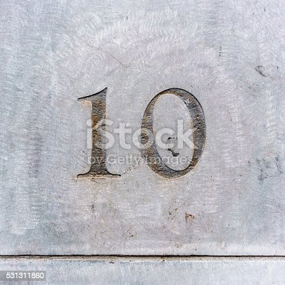 583977832 istock photo House number 10 531311860