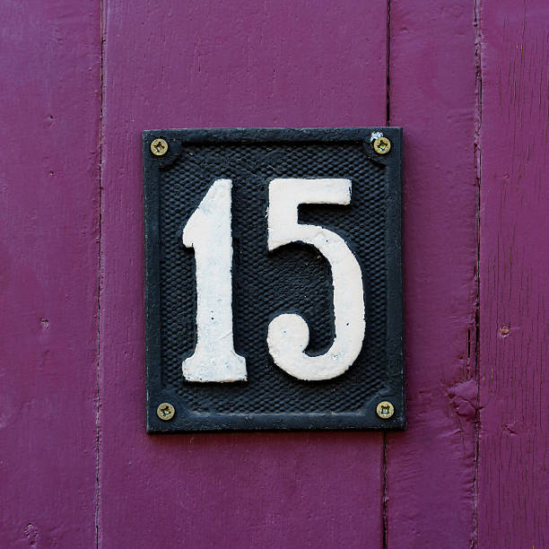 Best Number 15 Stock Photos, Pictures & Royalty-Free ...  |Number 15 Picture