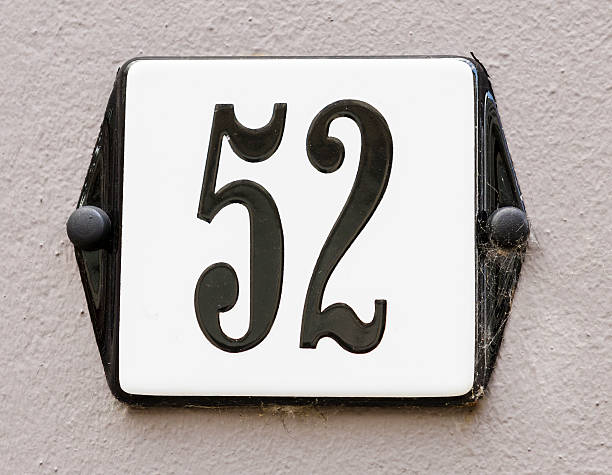 House Number 52​​​ foto