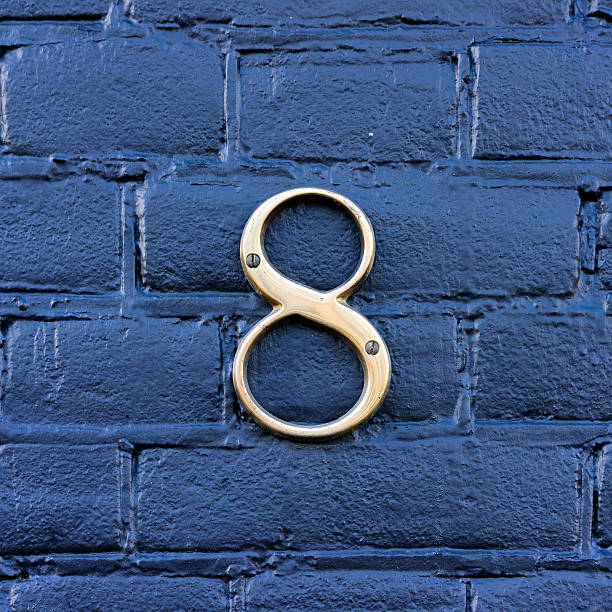 house number 8 - number 8 stock pictures, royalty-free photos & images
