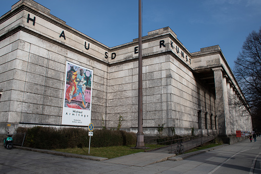 House of Art Museum in Munich, Germany