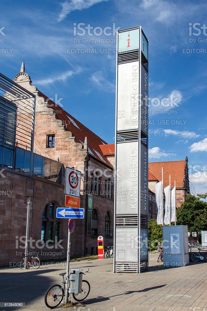 House of Artists in Nuremberg, Germany, 2015 stock photo
