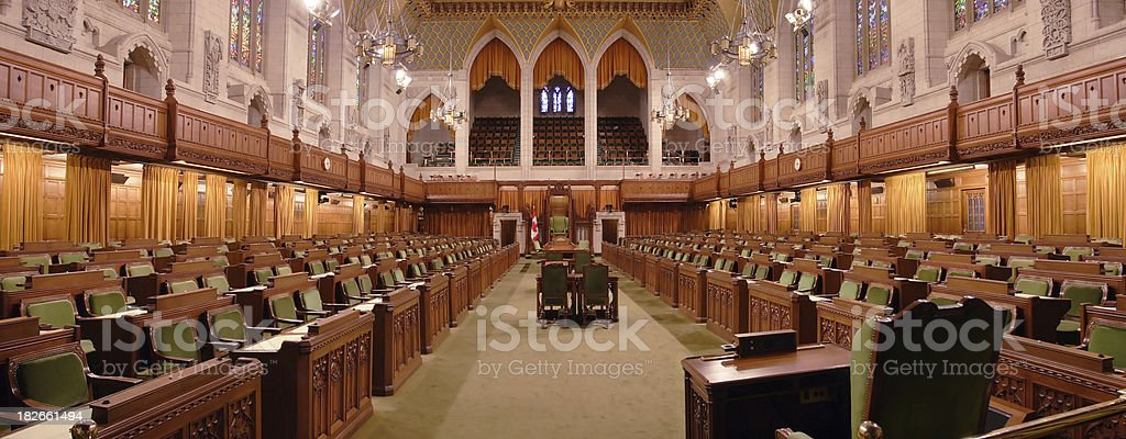 House of Commons royalty-free stock photo
