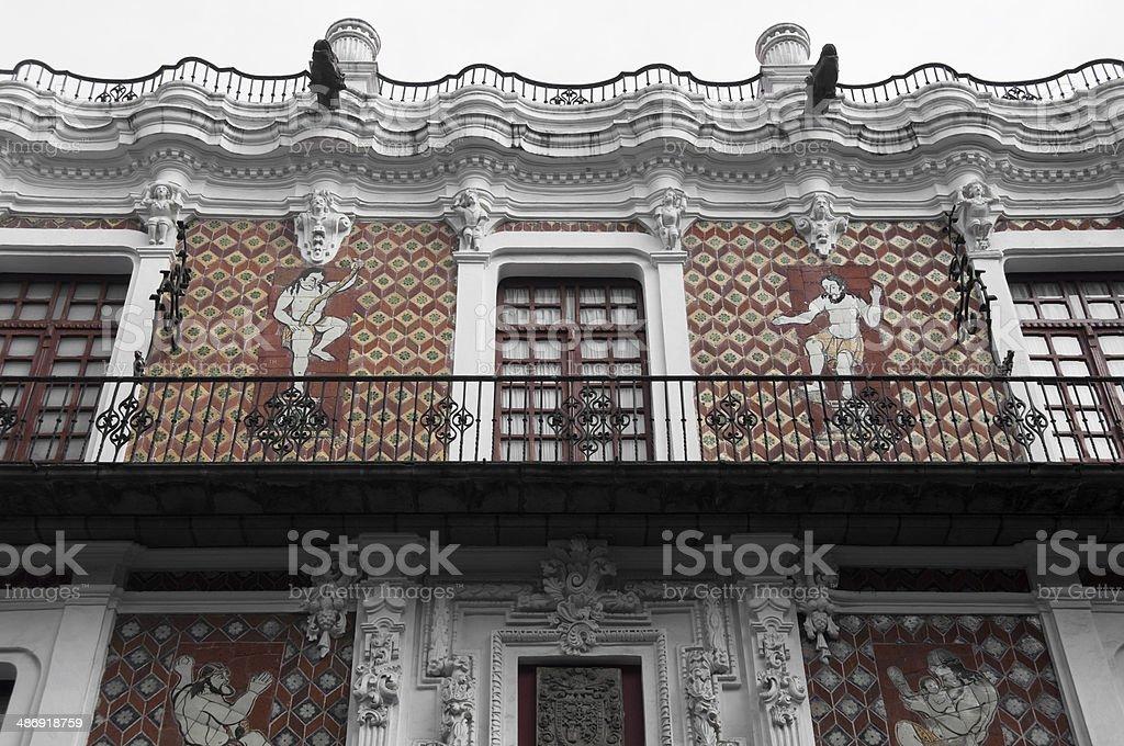 House of Dolls, Puebla (Mexico) stock photo