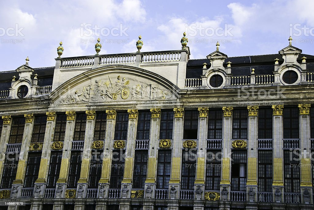House of Dukes  Brabant, Brussels, Belgium royalty-free stock photo
