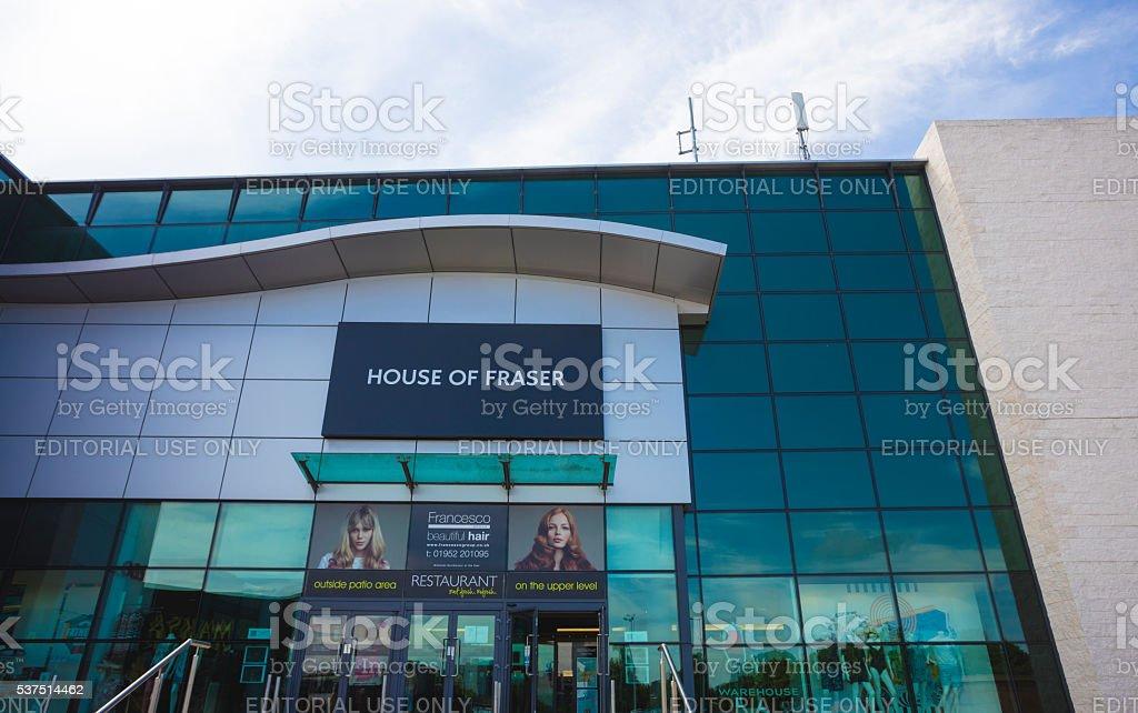 House of Fraser stock photo