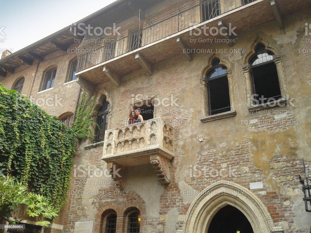 House of Juliet in Verona stock photo