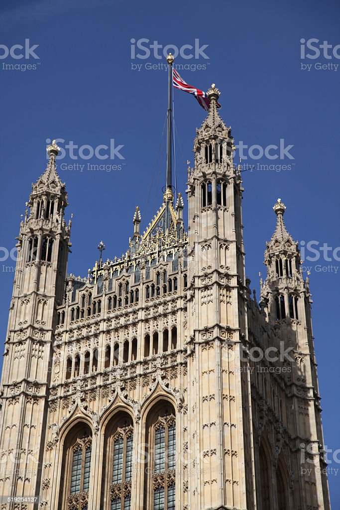 house of lords top stock photo