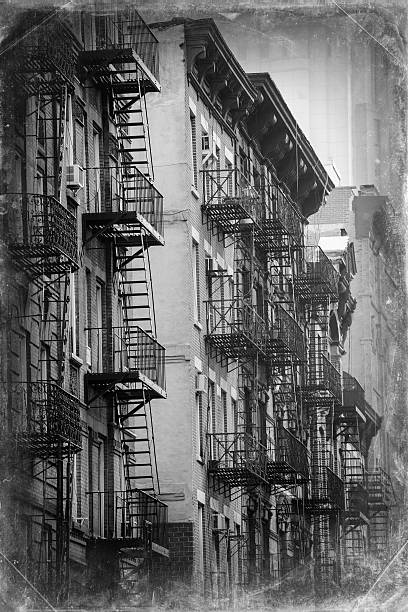 House of Manhattan, New York City, Vintage Picture stock photo
