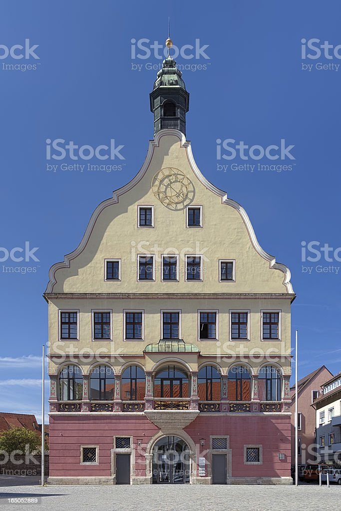 House of Oath in Ulm, Germany royalty-free stock photo