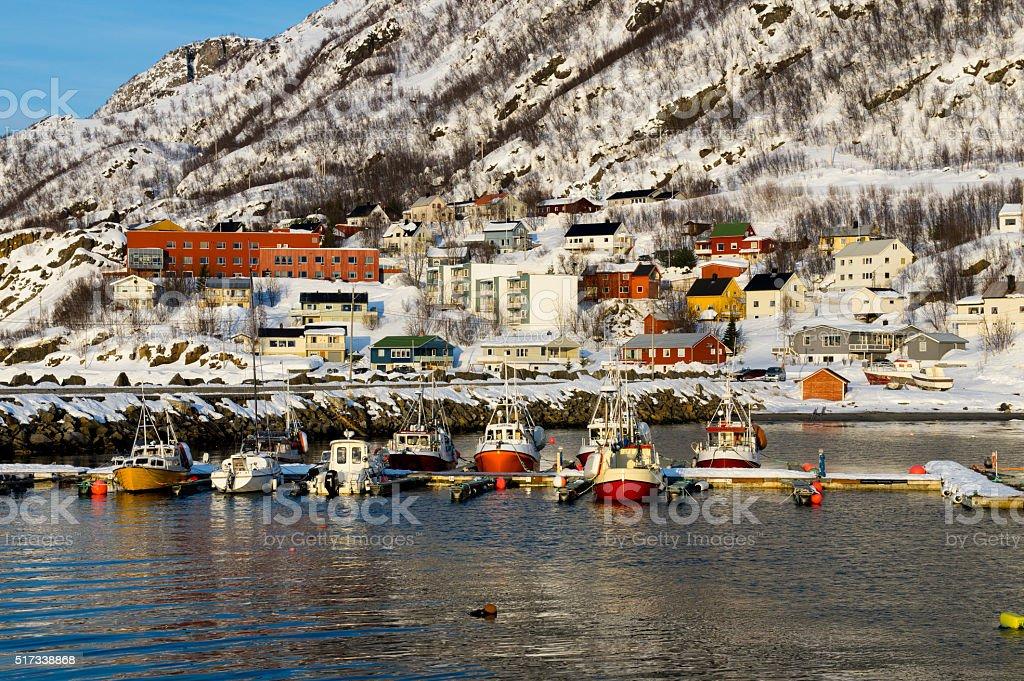 House of Oksfjord royalty-free stock photo