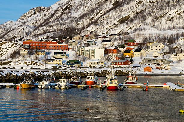 House of Oksfjord stok fotoğrafı