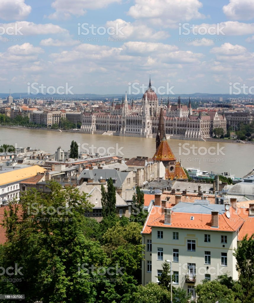 House of parliament, Budapest stock photo