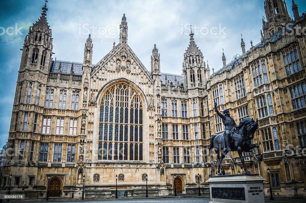 House of Parliament - London, UK stock photo