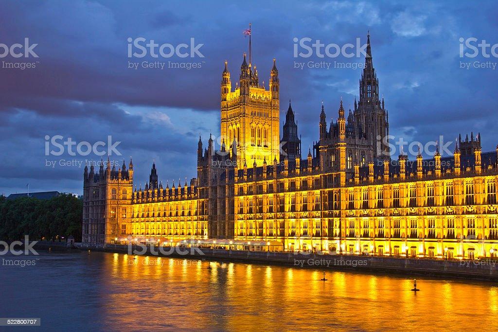 House of Parliament, London, UK stock photo