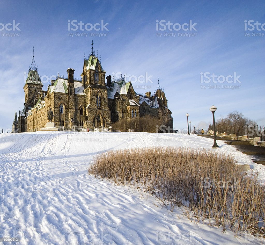 House of Parliament, Ottawa, Canada royalty-free stock photo