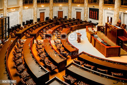 istock House of Representatives chamber inside the Arkansas State Capitol building 506787682