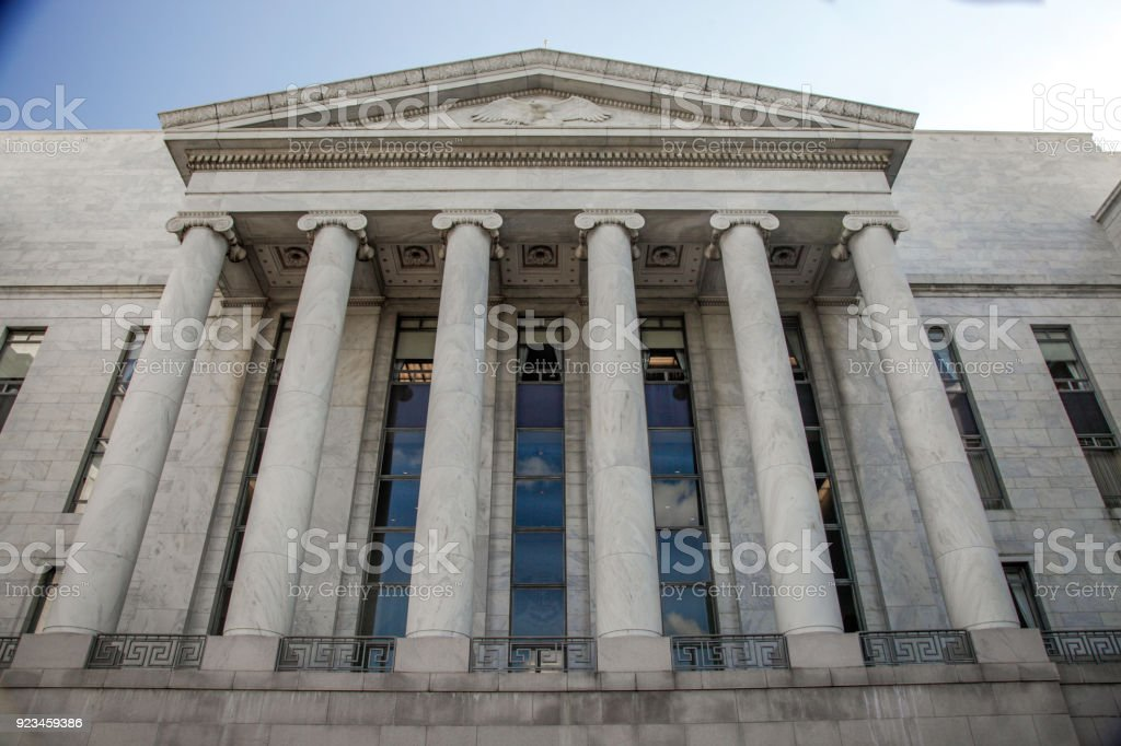 U.S. House of Representatives Longworth Building in Washington, DC stock photo