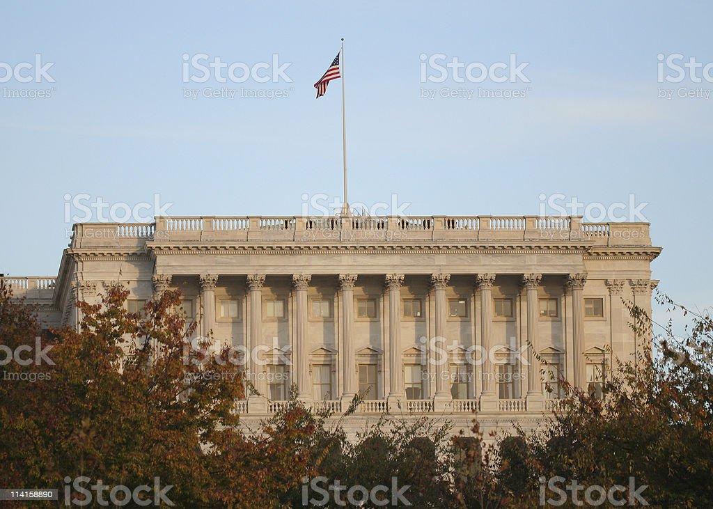 US House of Representatives royalty-free stock photo
