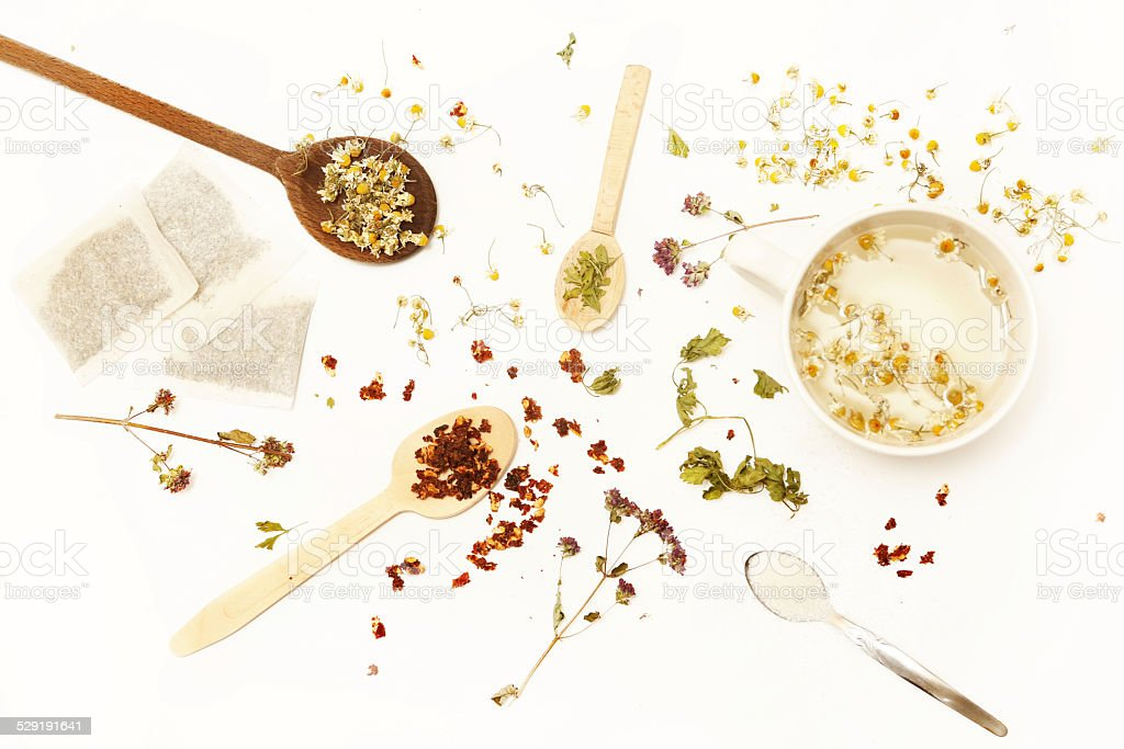 House of tea stock photo