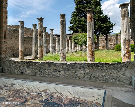 House of the Faun, Archeological Park Of Pompeii, Italy