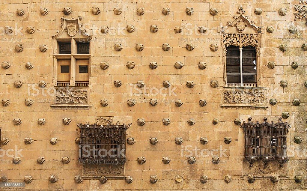Casa de las Conchas facade royalty-free stock photo