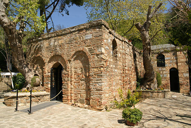 House of Virgin Mary  ephesus stock pictures, royalty-free photos & images