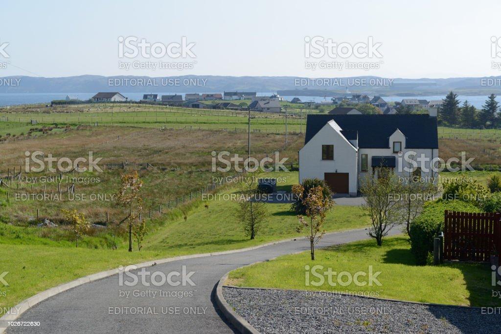 Haus am Hebriden in Schottland – Foto