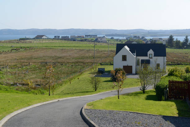 Haus am Hebriden in Schottland – Foto