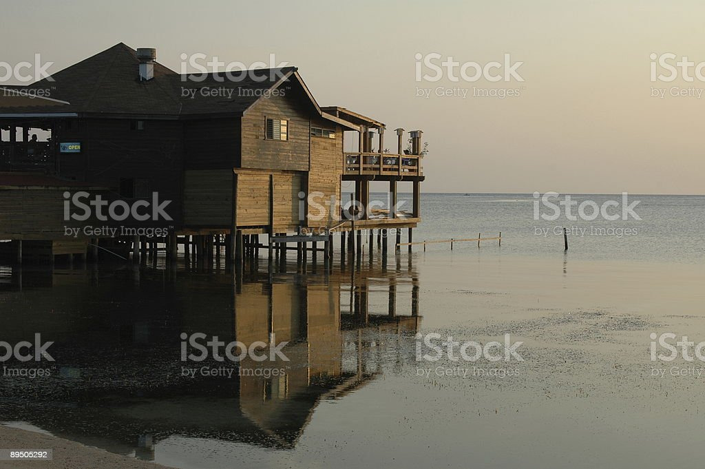 House on Stilts royalty-free stock photo