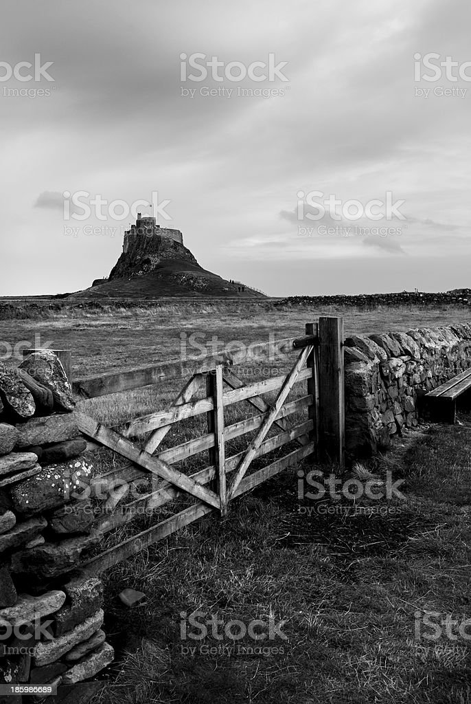 House on the Knoll royalty-free stock photo