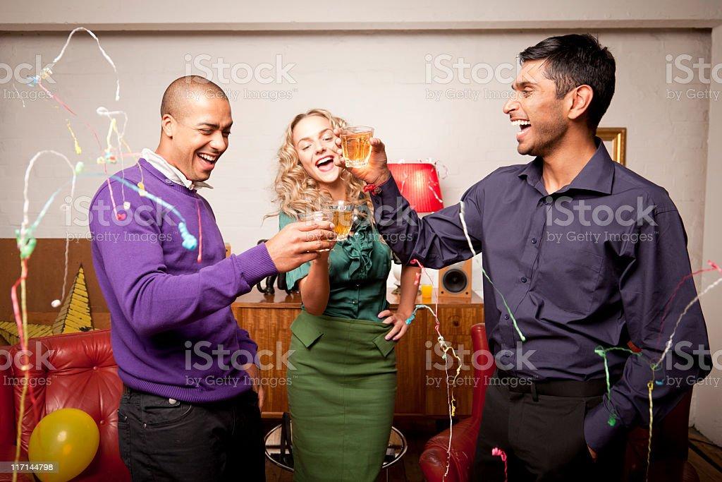 House party fun royalty-free stock photo