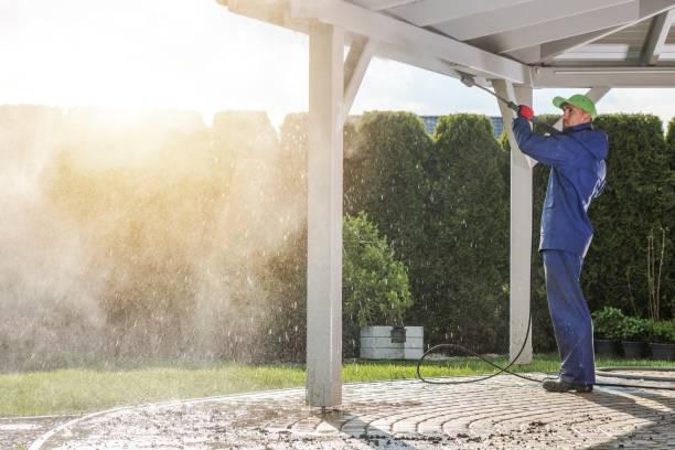 house patio power cleaning - potęga w naturze zdjęcia i obrazy z banku zdjęć