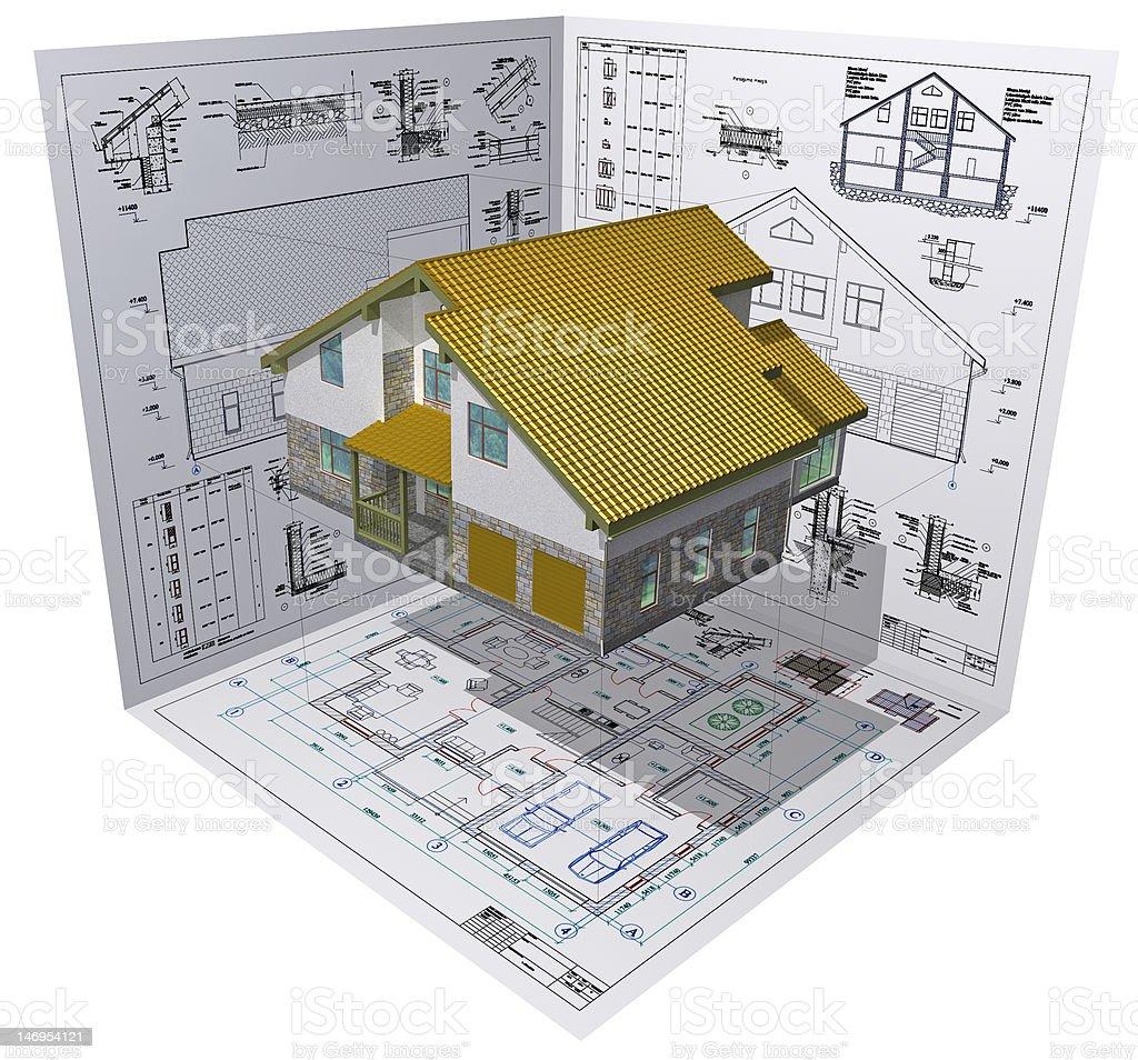 House. royalty-free stock photo