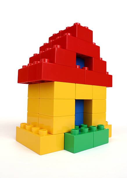house - lego house stock photos and pictures