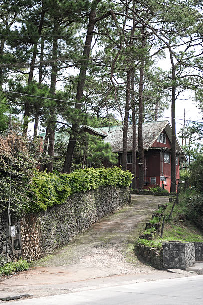 house - baguio city stock photos and pictures