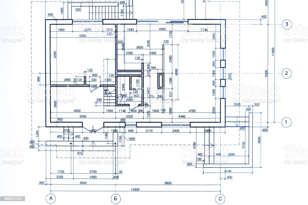 House plan blueprint part of architectural project technical drawing house plan blueprint part of architectural project technical drawing royalty free stock malvernweather Gallery