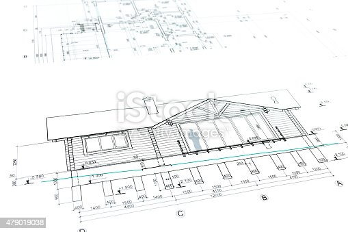 istock house plan blueprint 479019038