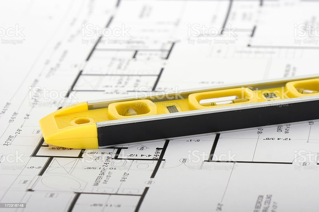 House Plans royalty-free stock photo