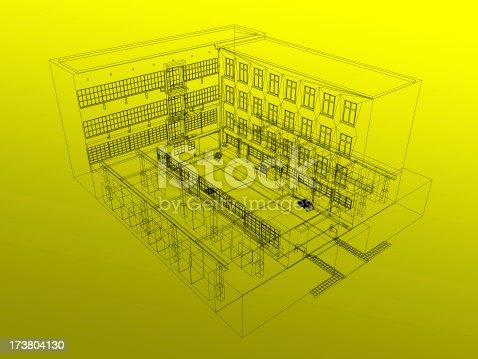 168312420 istock photo House Plans 173804130