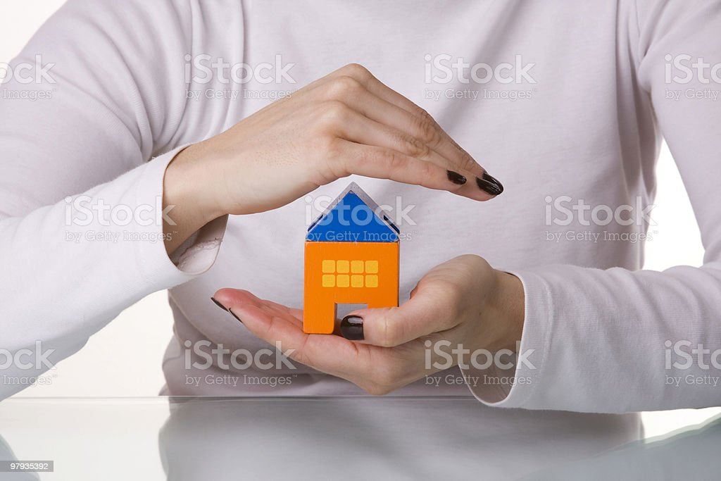 House protection royalty-free stock photo
