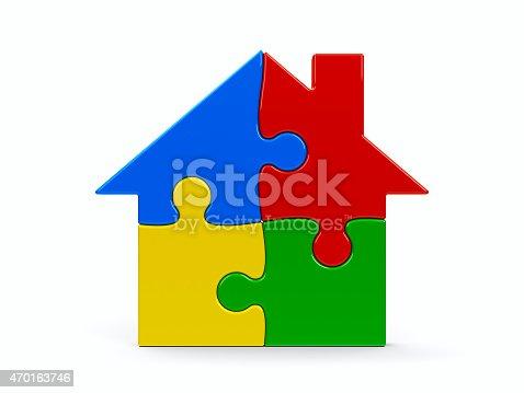 istock House puzzle 470163746