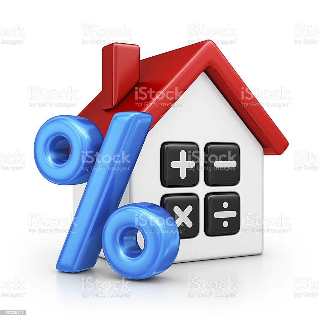 house rate royalty-free stock photo