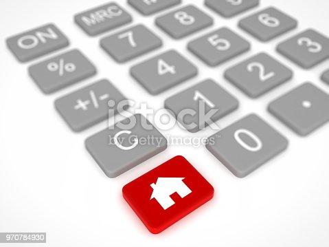 House real estate loan mortgage calculator