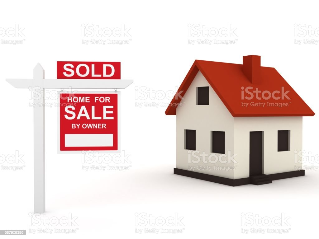 House Real Estate Sign Sold Stock Photo Download Image Now Istock