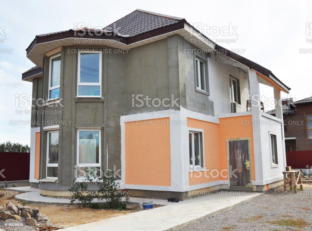Photo Libre De Droit De Maison Rénovation Et Réparation Avec