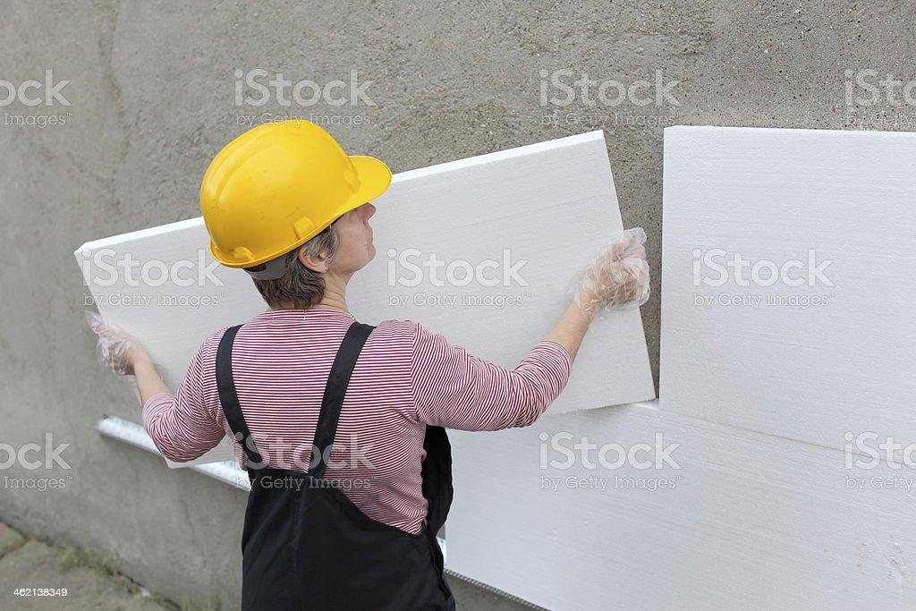 House renovation stock photo