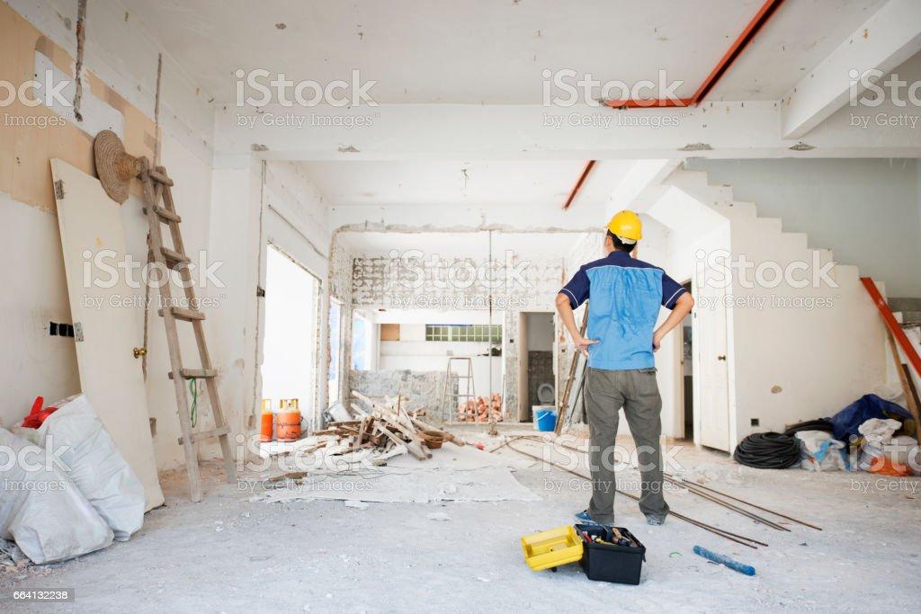House renovation foto stock royalty-free