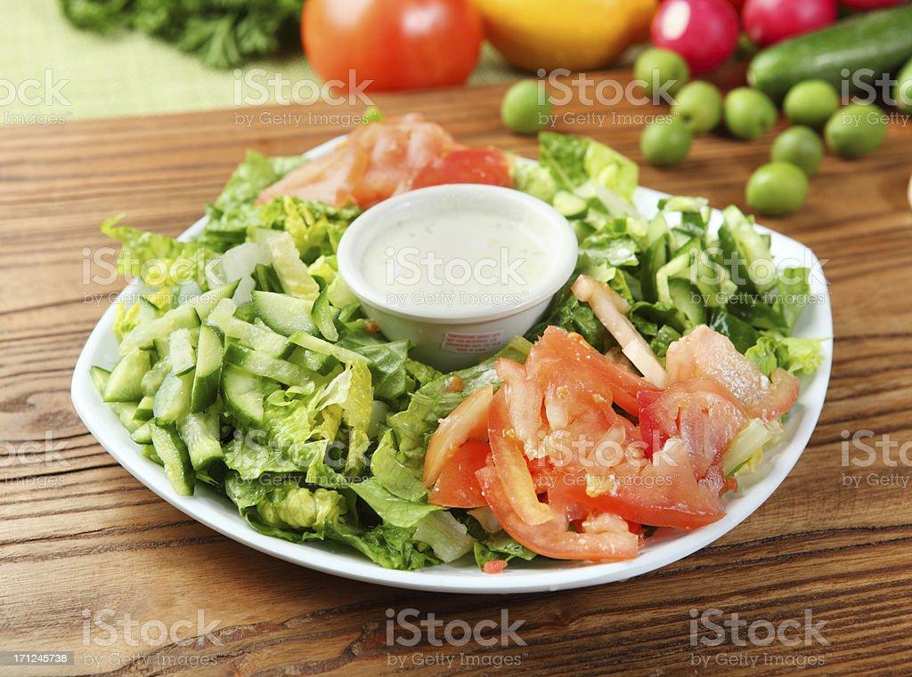 House Salad stock photo