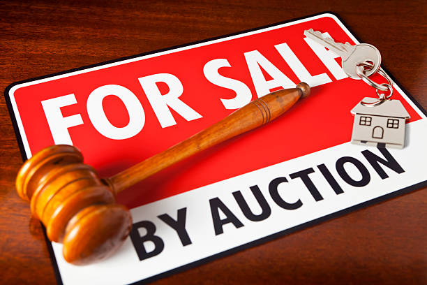 House Sale by Auction stock photo